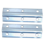 National Hardware S755-510 Stanley 4 Inch Zinc Plated Steel Inside Corner Brace 2 Pack