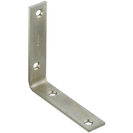 National Hardware S756-511 S838-961 Stanley Corner Braces 4 By 7/8 By 0.12 Inch Zinc Plated Steel 4 Pack