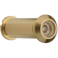 National Hardware S610-470 N158-907 Stanley 120 Degree Solid Brass Door Viewer Polished Brass