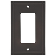 National Hardware S804-179 Stanley Ranch Single Rocker Or Gfi Wall Plate Oil Rubbed Bronze