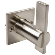 National Hardware S804-534 Stanley Meis 2-3/4 Inch Tall Single Coat And Robe Hook Satin Nickel