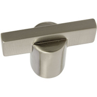 National Hardware S804-542 Stanley Meis Bar Shaped Knob Satin Nickel