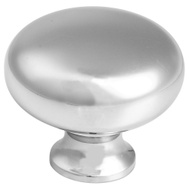 National Hardware S804-948 Stanley Classic Round Cabinet And Drawers Knob Bright Chrome Plated