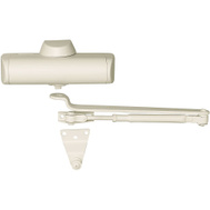 National Hardware S820-266 Stanley Door Closer 140 Pounds Maximum Ivory