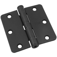 National Hardware S820-753 2eachN236-138 Stanley Commercial Door Hinges 3-1/2 Inch 1/4 Radius Oil Rubbed Bronze 2 Pack