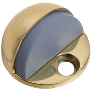National Hardware S829-192 Stanley Low Rise Dome Floor Mount Door Stop Bright Brass