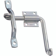 National Hardware S833-244 N156-042 N158-204 Stanley Bar Strike Door And Gate Latch Zinc Plated Steel