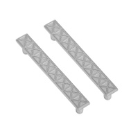 National Hardware S833-749 Stanley Pinnacle 4 Inch Cabinet And Drawer Pulls Satin Nickel 2 Pack