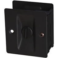 National Hardware S837-575 Stanley Privacy Knotched Pocket Door Latch Solid Brass Oil Rubbed Bronze