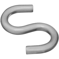 National Hardware S837-914 Stanley Heavy Open S Hook 2-1/2 Inch Stainless Steel