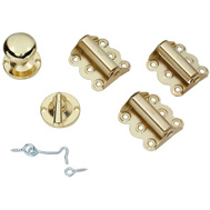 National Hardware N100-018 = S838-904 Stanley SEE 886780013344 Spring Hinge Screen Door Kit Bright Brass On Steel