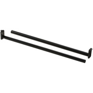 National Hardware S840-231 Adjustable Closet Rod With Metal Ends 48 Inch To 72 Inch Oil Rubbed Bronze