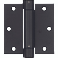 National Hardware S849-612 N350-769 Stanley 3-1/2 Inch Square Corner Spring Door Hinge Oil Rubbed Bronze