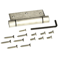 National Hardware S849-646 N350-785 Stanley 3-1/2 Inch Square Corner Spring Door Hinge Stainless Steel