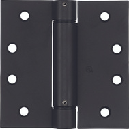 National Hardware S849-653 N350-793 Stanley Spring Door Hinge 4 Inch Square Corner Oil Rubbed Bronze