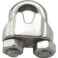 National Hardware S850-818 N348-888 Stanley 1/8 Inch Stainless Steel Wire Cable Clamps 3 Pack