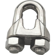National Hardware S850-883 N348-938 Stanley 1/2 Inch Stainless Steel Wire Cable Clamp