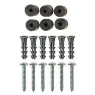 National Hardware N180-778 S819-615 Stanley Pegboard Mounting Hardware Kit 6 Pack