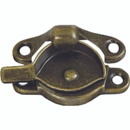 National Hardware S571-065 S819-033 N148-809 S755-881 Stanley Crescent Sash Lock Antique Brass