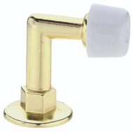 National Hardware S571-040 Stanley Floor Mount Door Stop Bright Brass