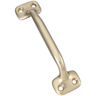 National Hardware S804-050 N198-143 Stanley Multi Purpose Solid Brass Pull 4-5/8 Inch Overall Bright Brass