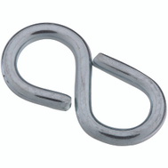 National Hardware S759-174 Stanley 1-1/4 Inch Closed S Hook Zinc Plated 4 Pack