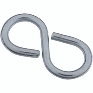 National Hardware S759-176 N121-319 Stanley Closed S Hooks Light #810 1-5/8 Inch Zinc Plated Steel 4 Pack