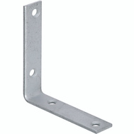 National Hardware S756-515 Stanley Corner Braces 4 By 7/8 By 0.12 Inch Galvanized Steel 2 Pack