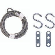 National Hardware S730-690 N280-313 Stanley Zinc Plated Lift Cable 12 Foot By 1/8 Inch Galvanized
