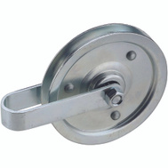 National Hardware S730-720 N280-537 Stanley Garage Door Pulley With Fork 4 Inch Galvanized
