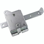 National Hardware S730-920 N280-743 Stanley Garage Door Side Lock 7-1/2 Inch Zinc Plated Steel