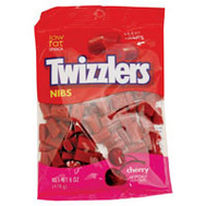 Continental Concession HEC54413 Twizzlers Cherry Nibs Twizzler 6 Ounce