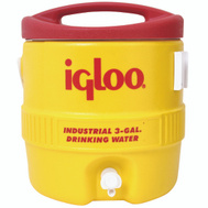 Igloo 00000431 3 Gallon Commercial Water Cooler With Cup Bracket