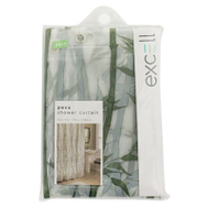 ExCell 1ME-040O0-3066-311 Green Bamboo Shower Curtain