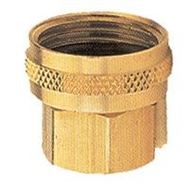 Fiskars 805574-1001 Garden Hose Connector Double Female 1/2 Inch By 3/4 Inch