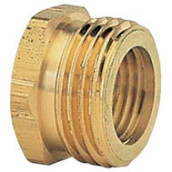 Fiskars 800774-1001 Hose Connector Male 3/4 Inch NPT By 3/4 Inch NHT Female