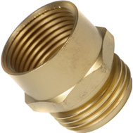 Fiskars 807704-1001 Hose Connector Male 3/4 Inch NHT By 3/4 Inch NPT Female
