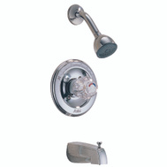 Delta Faucet 1348 Tub And Shower Faucet Monitor Single Handle Water Saving Chrome