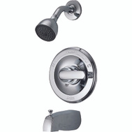 Delta Faucet 134900 Monitor Chrome 1 Handle Tub And Shower Faucet