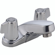 Delta Faucet 2500-LF Two Handle Kitchen Faucet Chrome