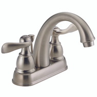 Delta Faucet B2596LF-SS Lavatory Faucet 2 Handle Stainless