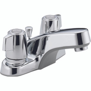 Delta Faucet P246LF Faucet Lavatory 2 Handle P Up Chrome