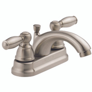 Delta Faucet P299675LF-BN Peerless Lavatory Faucet 2 Lever Handle Brushed Nickel