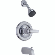 Delta Faucet P188720 Peerless Tub And Shower Faucet Single Chrome