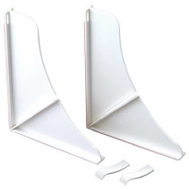 Delta Faucet 76814WH Plumb Shop White Shower Splash Guard