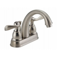 Delta Faucet B2596LF-SS Stainless Steel 2 Handle Lavatory Faucet