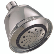 Delta Faucet 75566SN Showerhead 5-Spray Sat Nickel