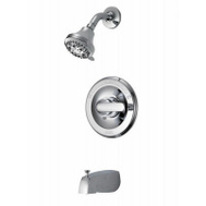 Delta Faucet 134900 Chrome Single Tub And Shower Faucet