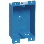 Thomas & Betts B108R-UPC Carlon Single Gang Pvc Switch Box
