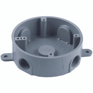 Thomas & Betts E365DR Carlon Round T Box 5 1/2 Inch Holes